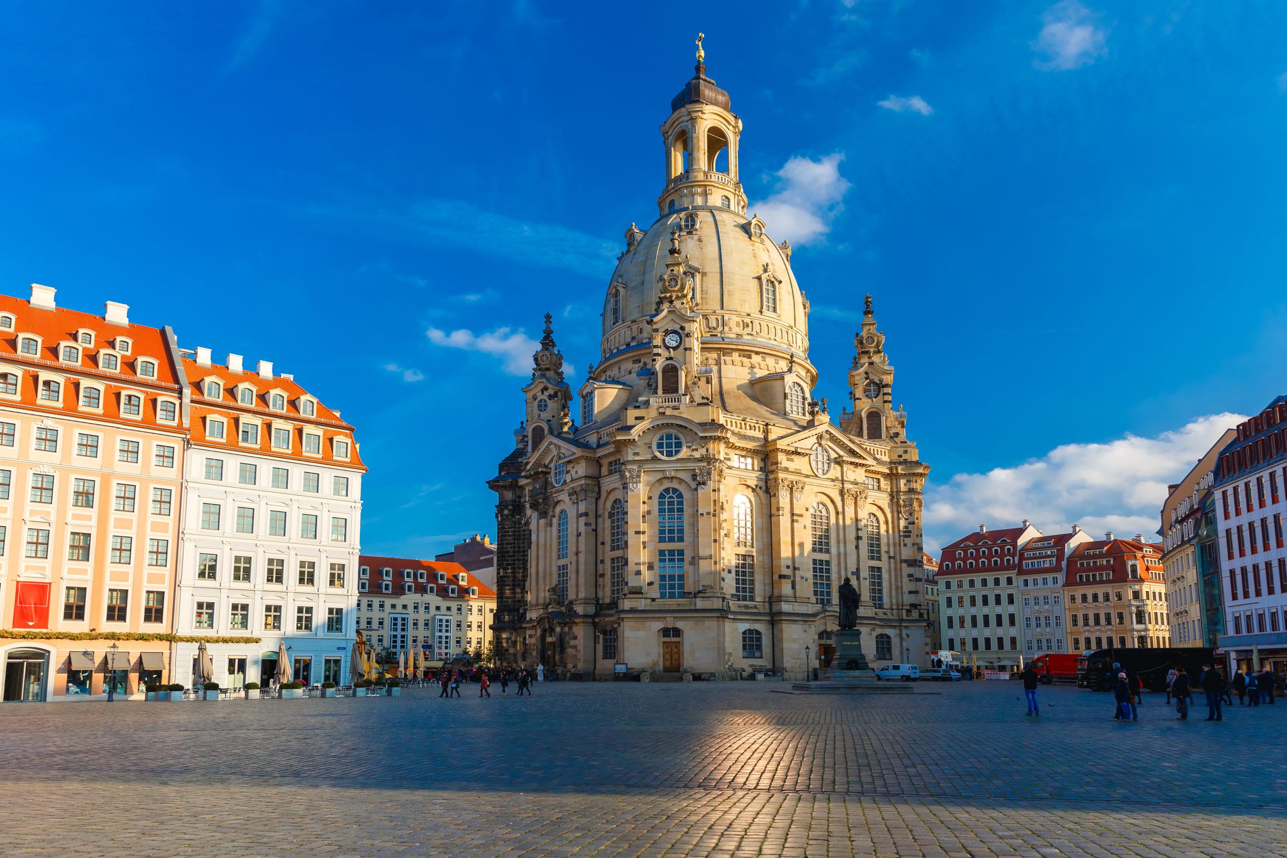 Foto von der Frauenkirche in Dresden