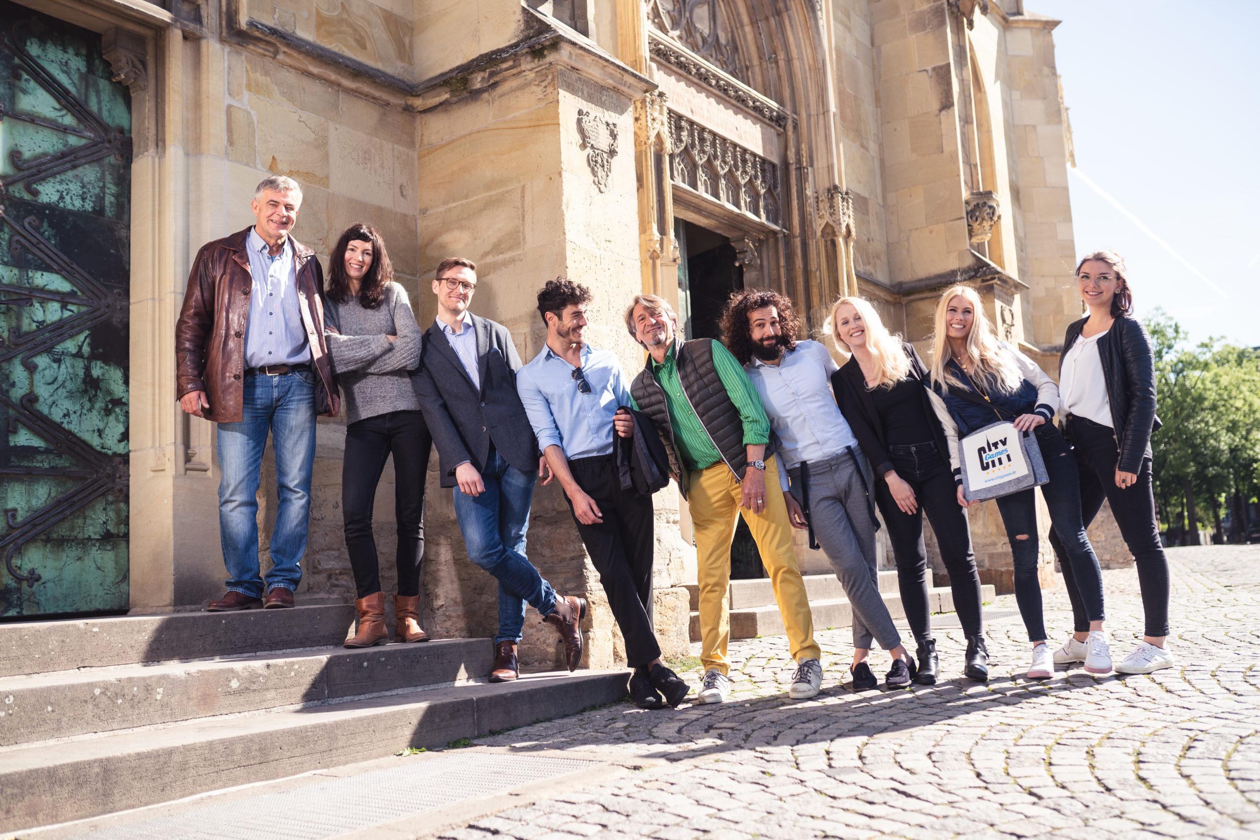CityGames Dresden Firmen Team Pro Tour: Firmengruppe