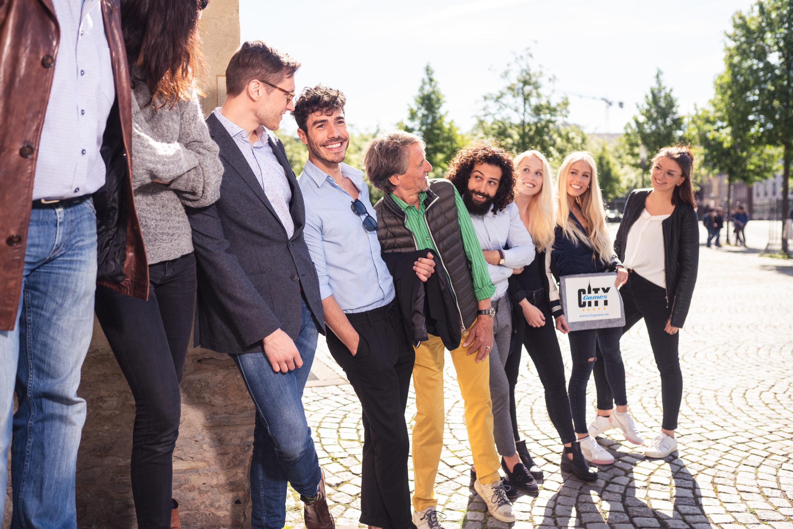 CityGames Dresden Firmen Team Tour: Firmengruppe
